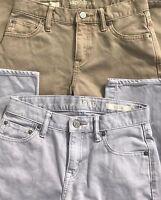 Gap Kids Fine Corduroy Pants Jeans Girls 12 Reg/Slim Mint Assorted Colors Mint