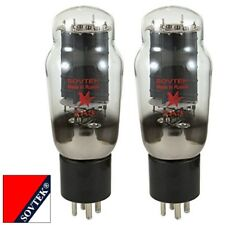 Plate Current Matched Pair (2) Sovtek 2A3 Triode Power Vacuum Tubes
