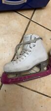 girls size 1 Riedell figure skates