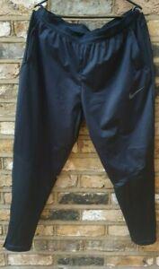Men NIKE SHIELD PHENOM Running Trousers Black XL Great Condition RRP£70