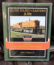 MORNING SUN BOOKS - ELGIN JOLIET & EASTERN Volume 2 In Color - HC 128 Pages