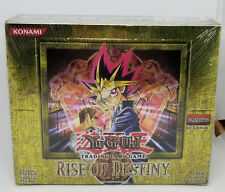 YUGIOH 1ST EDITION RISE OF DESTINY BOOSTER BOX FACTORY SEALED ENGLISH 24 PACKS