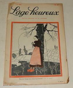 L'AGE HEUREUX N°1 du 2 Janvier 1930 : Le veau enchanté – Georges CLEMENCEAU