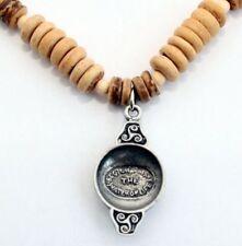 Handmade Wood Costume Necklaces & Pendants
