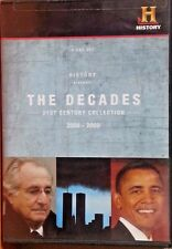 History Channel:The Decades  21st Century Collection  2000-2009 4 DVD's LIKE NEW