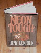 NEON TOUGH First Australian Edition Kenrick Detective Fiction Dustwrapper U206
