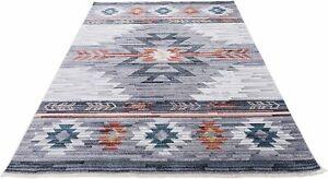 Southwestern 8x10 Rug Navajo Native American Inspired Modern Faded Tribal...