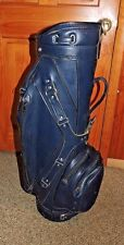 VINTAGE Ron Miller Pro Model DARK BLUE GOLF CART BAG