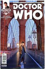DOCTOR WHO #13 B, NM, 10th, Tardis, 2014, Titan, 1st, more DW in store, Sci-fi
