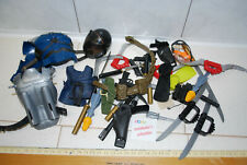 G.I.Joe / Action Man / max steele - Lot of Weapons / Accessories - - look
