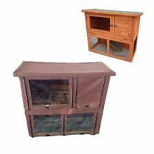 KCT Monza 3ft Wooden Rabbit Hutch With Cover