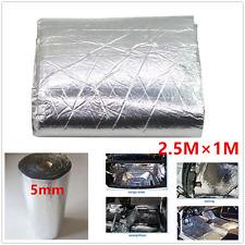 2.5x1m Roll Car Van Sound Proofing Deadening 5mm Insulation Closed Cell Foam Mat