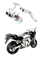 Exhaust silencer muffler DOMINATOR ROUND FZ6 FAZER 600 S1 04-06 + DB KILLER