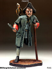 Pirate, Tin toy soldier 54 mm, figurine, metal sculpture HAND PAINTED