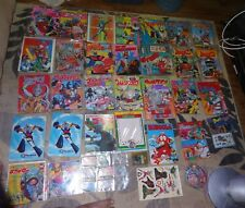 Huge lot of Vintage Kikaida Rainbow Ultra Man Kamen Rider Books Records Cards