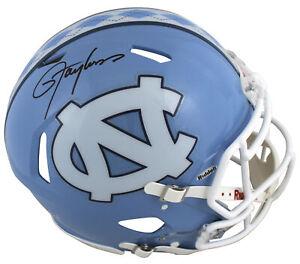 North Carolina Lawrence Taylor Signed Full Size Speed Proline Helmet BAS Witness