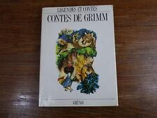 LEGENDES ET CONTES : CONTES DE GRIMM Grund 1991 ill. JIRI TRNKA