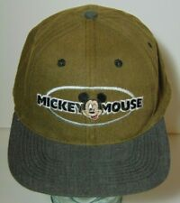 84b8639cde262 Vintage 1990s WALT DISNEY MICKEY MOUSE TWO 2 COLOR DREW PEARSON SNAPBACK  HAT CAP