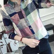 Women Blouses Fashion T-Shirts Linen Cotton Long Sleeve Female Shirts Tops Tees!