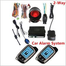 2 WAY allarmi del sistema di sicurezza con LCD a lunga distanza controlers ANTI-THEFT