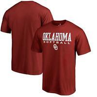 Oklahoma Sooners Fanatics Branded True Sport Softball T-Shirt - Cardinal