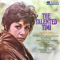 TIMI YURO The Talented Timi VINYL LP Original 1968 UK MERCURY Quincy Jones Album
