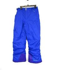 Columbia Boys Blue Bugaboo Omni-Tech Outgrown Snow Pants Size 10-12