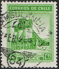 CHILE STAMP RPO RAILWAY CANCELLATION AMBULANCIA # 84
