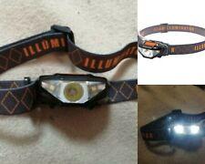 Waterproof Mini Head Lamp 3 Modes Cob Led Flashlight Headlight Headlamp Torch