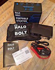 New Halo AC/DC BOLT 58830 Portable Car Power Jump Starter Black Graphite