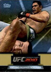 "2010 UFC Topps ""Greats Of The Game"" Antonio Rodrigo Nogueira #GTG-10"