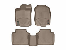 WeatherTech FloorLiner for Lincoln MKZ / Ford Fusion 1st 2nd Row Tan