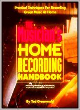 Musicista Home Recording 180 pages A-Z synth Electronic Digital ANALOGICO TECHNICS