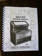 Rock-ola 448-449 & 447 Jukebox Manual