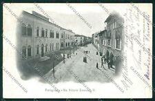 Venezia Portogruaro PIEGA cartolina QK2959