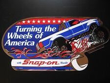 USA Snap-on Snap on Tools Tool Box Vintage Sticker Racing Decal Garage Retro