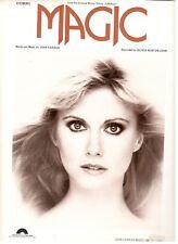 "OLIVIA NEWTON-JOHN ""MAGIC"" SHEET MUSIC-1980-EXTREMELY RARE-BRAND NEW ON SALE!!"