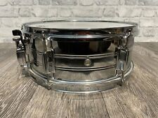 """More details for snare drum 14""""x5.5"""" steel shell 6 lug / drum hardware #sn022"""