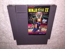 Ninja Gaiden II: The Dark Sword of Chaos (Nintendo NES) Game Cartridge Excellent