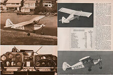 1959 vintage aircraft Photo Article PIPER TRI PACER PA-22-150 model  022515