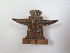 1973 Indy 500 Bronze Pit Badge #V1 Gordon Johncock Eagle Offy