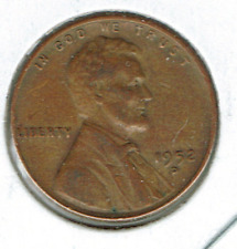 1952-D Circulated Business Strike Copper One Cent Coin!
