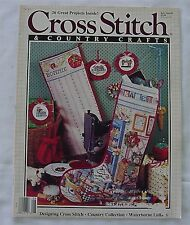 Cross Stitch Country Crafts Christmas Stocking Stitcher's Machine July/Aug 1989