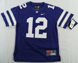 Kansas State Powercat NCAA NIKE #12 Youth Short Sleeve Jersey