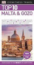 DK Eyewitness Top 10 Malta & Gozo *FREE SHIPPING*
