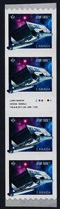 Canada 2985ii gutter coil strip MNH Star Trek