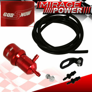Universal Adjustable Racing Turbo 60 Psi Manual Boost Bypass Controller Kit Red