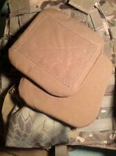 NEW 2 USMC Hip Pads SPC MTV IMTV Military Modular Tactical Vest Coyote Brown
