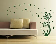 Dancing Flower - highest quality wall decal sticker