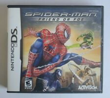Spider-Man: Friend or Foe (Nintendo DS, 2007) CIB
